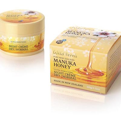 Manuka Honey Night Creme - Dry to Normal 100g
