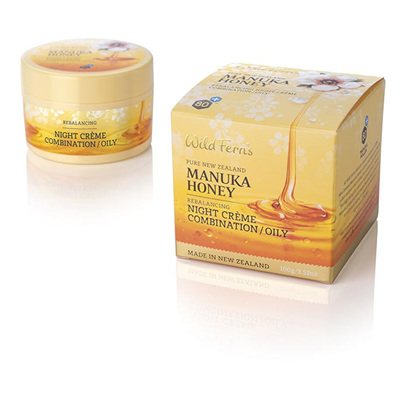 Manuka Honey Rebalancing Night Creme - Combination to Oily 100ml