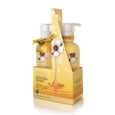 Manuka Honey Twin Shower Pack