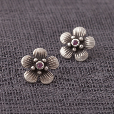 Manuka Jewelled Stud Earrings