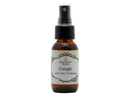 Manutuke Herbs - Cough Remedy 50ml
