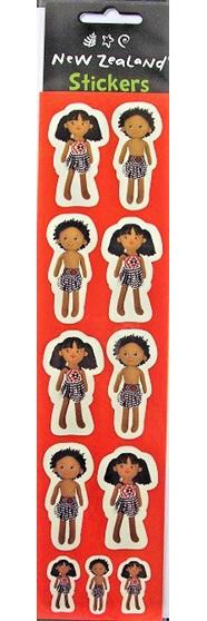 Maori Doll Stickers