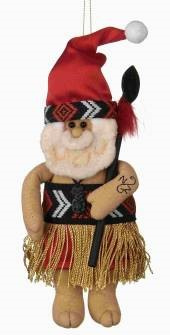 Maori Santa - Christmas Tree Decoration