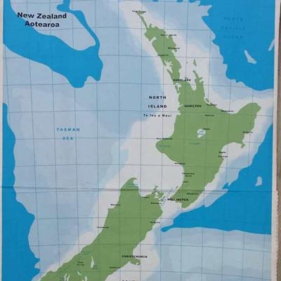 Map of Aotearoa