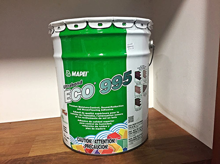Mapei Ultrabond Eco995 Flooring Glue and Moisture Barrier