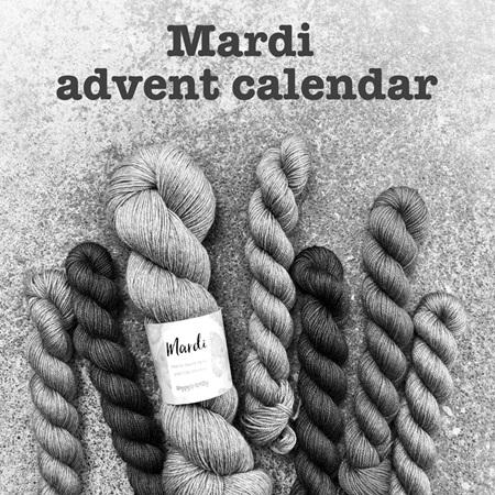 Mardi advent calendar