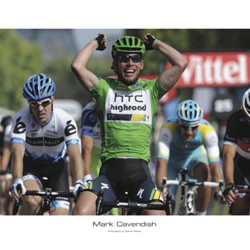 Mark Cavendish Tribute Poster