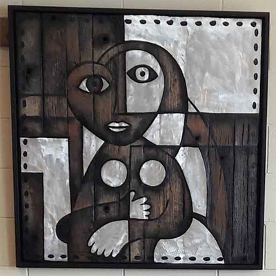 Mark Dimock Picasso's Woman Dark