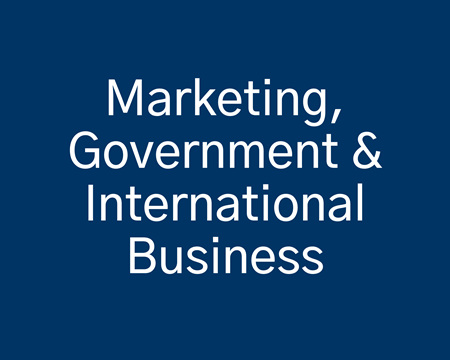 Marketing, Government & International Business
