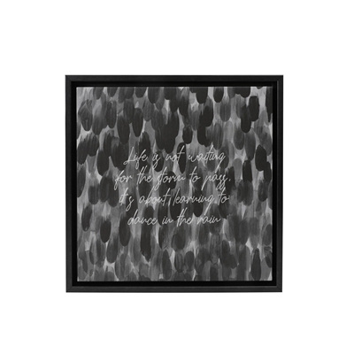 MARKINGS LIFE FRAMED CANVAS