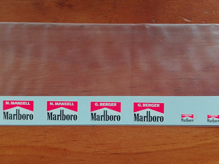 Marlboro Name Decals for Tamiya 1/20 Ferrari F189