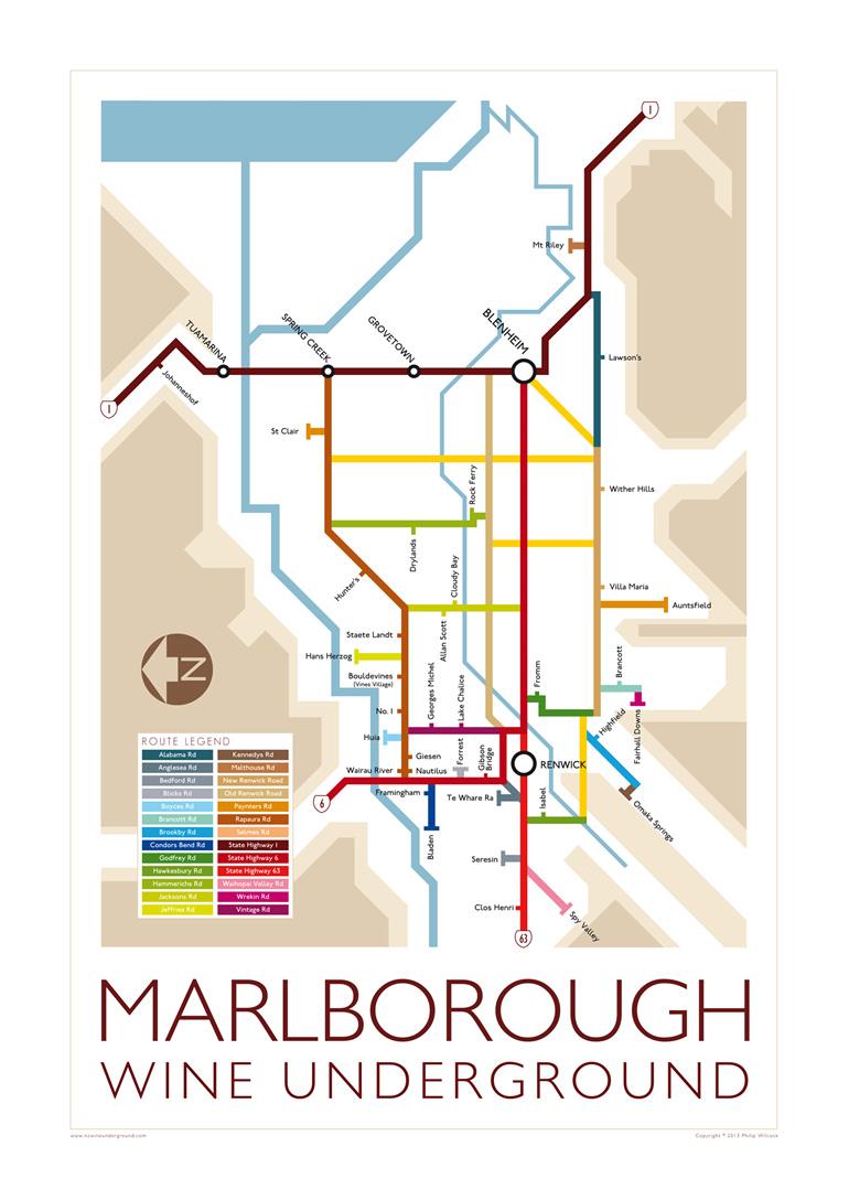 Marlborough Wine Underground 2012