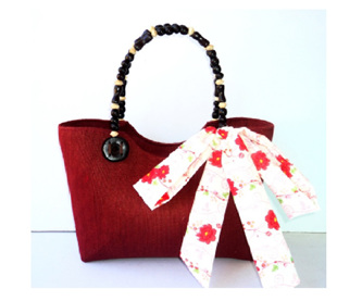 Maroon Berry Bag - FREE SHIPPING