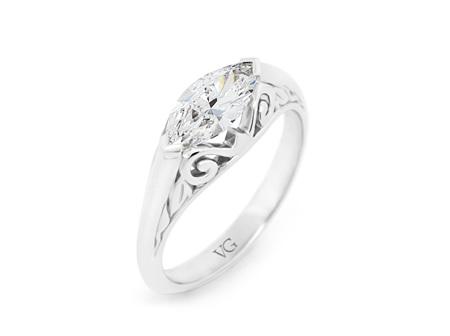Marquise Heritage Diamond Ring
