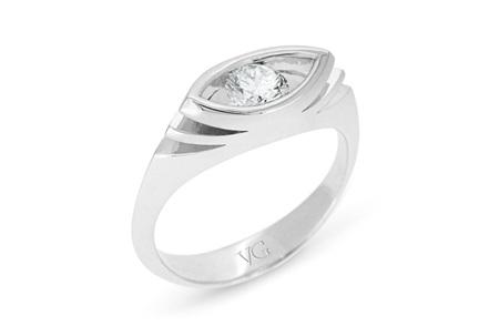 Marquise Shaped Brilliant Diamond Ring