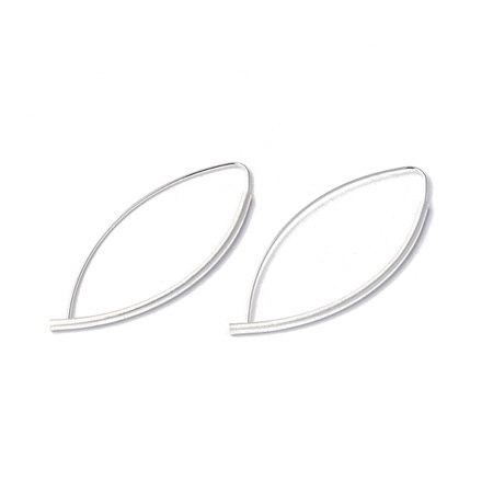 Marquise Tube Earrings