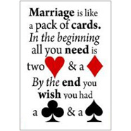 Marriage Fridge Magnet