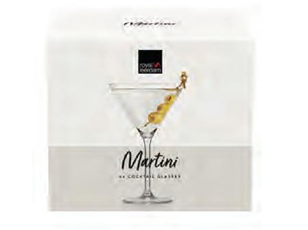 Martini Glass Set 4 piece