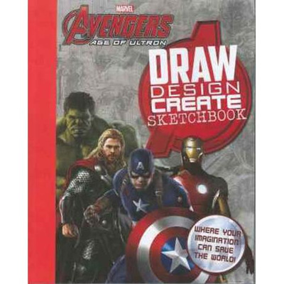 Marvel Avengers: Age of Ultron Draw Inspire Create Sketchbook