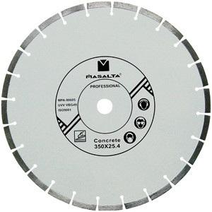 "Masalta - Concrete Blade - diamond disc for concrete 16"" / 400 mm"