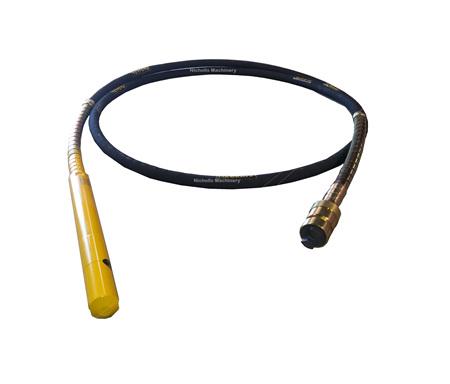 Masalta MVS45X6M Vibrator Hose - Dynapac Coupling