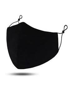 MASKiT Plain Black Mask