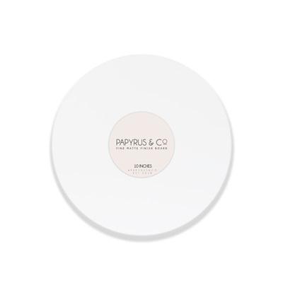 Masonite Cake Boards - Gloss  White