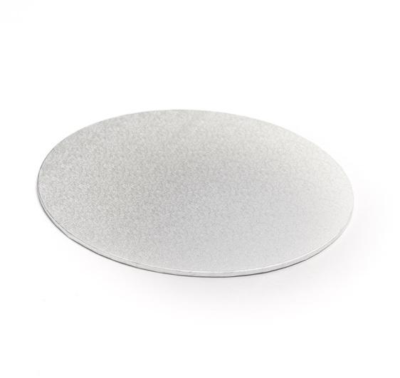 Masonite Cake Boards Silver