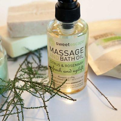 Massage & Bath Oil