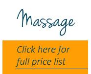 Massage price list