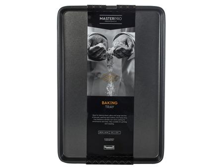 MasterPro N/S Insulated Baking Sheet Black 43x33x1cm