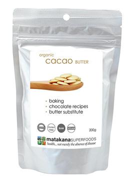 Matakana Superfoods Cacao Butter 200g