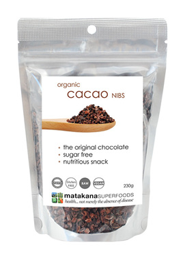 Matakana Superfoods Cacao Nibs 230g