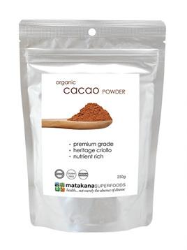 Matakana Superfoods Cacao Powder 250g