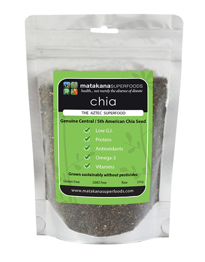 Matakana Superfoods Chia Seeds 250gm