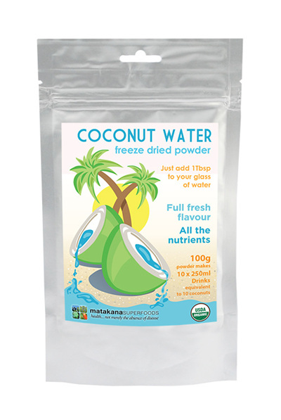 Matakana Superfoods Coconut Water 100gm