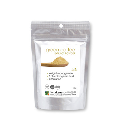 Matakana Superfoods Green Coffee Extract 100gm
