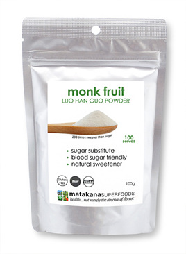 Matakana Superfoods Monk Fruit Powder 100g