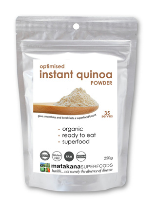 Matakana Superfoods Organic Optimised Instant Quinoa Powder 250gm