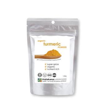 Matakana Superfoods Organic Turmeric Powder 120gm