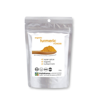 Matakana Superfoods Organic Turmeric Powder 120gm