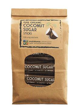 Matakana Superfoods Pure Coconut Sugar 4g sticks x100
