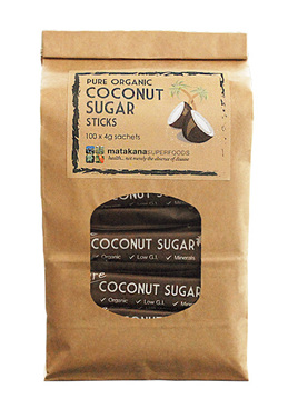 Matakana Superfoods Pure Coconut Sugar 4g sticks x100