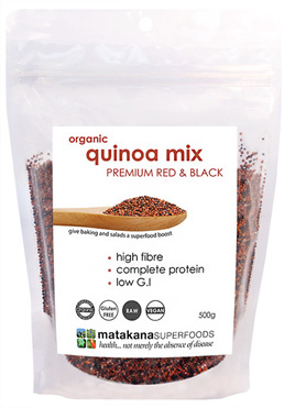 Matakana Superfoods Quinoa Red & Black 500g