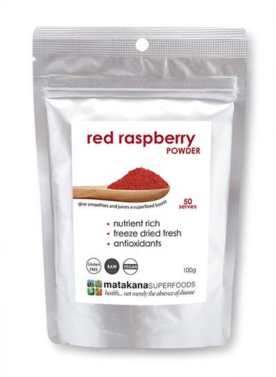 Matakana Superfoods Red Raspberry Powder 100gm