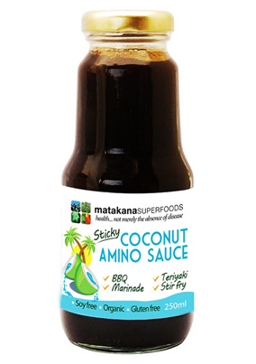 Matakana Superfoods Sticky Coconut Amino Sauce 250ml