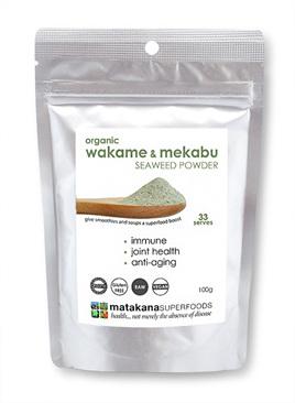 Matakana Superfoods Wakame & Mekabu Seaweed Powder 100g