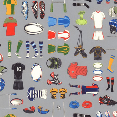 Match Day - Equipment Grey
