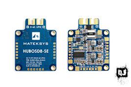 Matek HUBOSD8-SE, W/STOSD8-SE, Current Sensor, Dual BEC, 6S Max.
