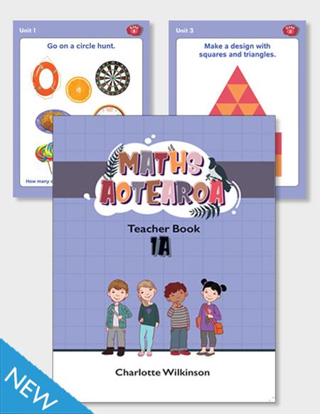 Maths Aotearoa 1a Teacher Book and Activity Cards Pack